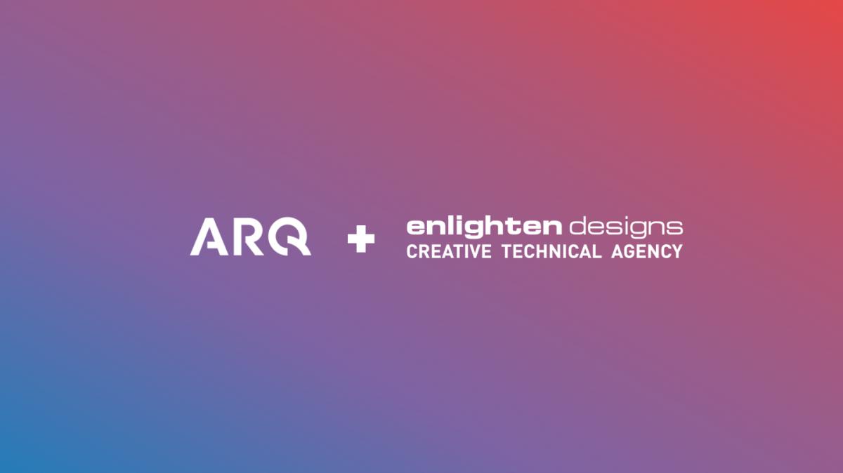 ARQ Group and Enlighten Designs Trans-tasman partnership